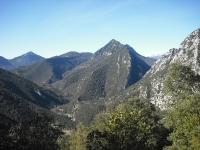 Magnífica vista de la cresta del Ferran