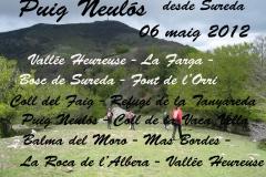 "Puig Neulós diumenge 06 de maig guiada per \""Josep Fíguls\"""